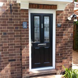 Leaded-Glass-UPVC-Double-Panel-Door